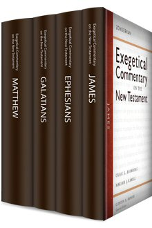 Zondervan Exegetical Commentary on the New Testament (4 vols.)
