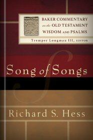 Richard S. Hess, Baker Commentary on the Old Testament: Wisdom and Psalms (BCOTWP), Baker, 2005, 288 pp.