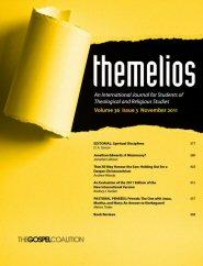 Themelios: vol. 36, no. 3, November 2011