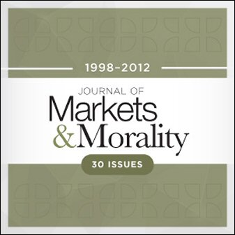 Journal of Markets & Morality (30 issues)
