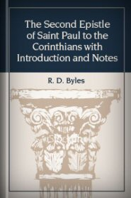 The Second Epistle of Saint Paul to the Corinthians with Introduction and Notes