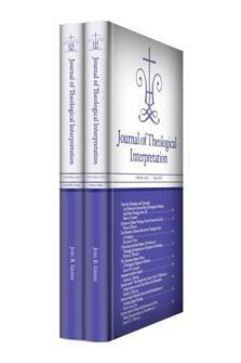 Journal of Theological Interpretation, vol. 2