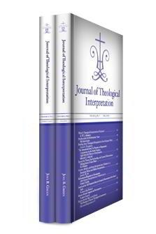 Journal of Theological Interpretation, vol. 3