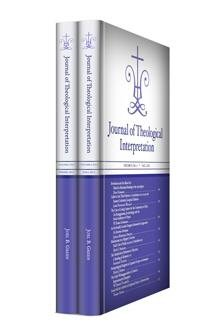 Journal of Theological Interpretation, vol. 6