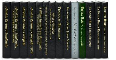Coleção de Bíblias (14 vols.)