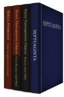 Coleção de Bíblias em Línguas Originais, simples (4 vols.)