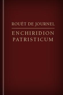 Enchiridion Patristicum