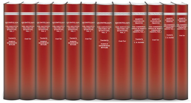 Rhetoricians of the Roman Era Collection (12 vols.)