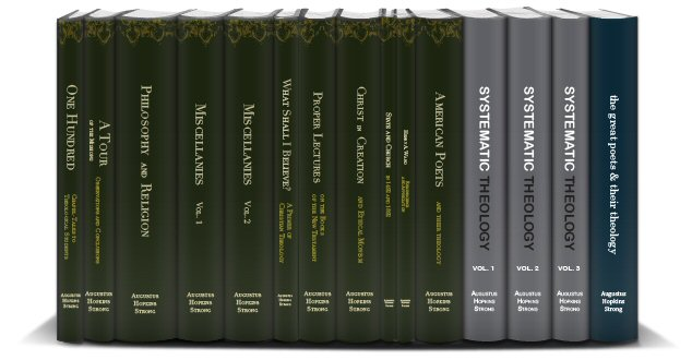 Augustus Hopkins Strong Collection (15 vols.)