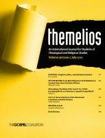 Themelios: vol. 38, no. 2, July 2013