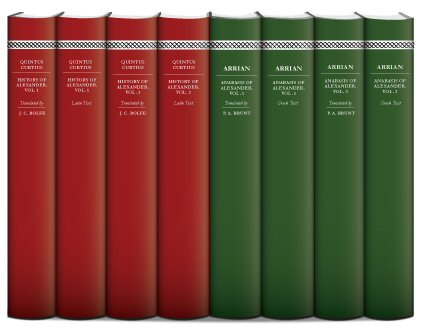 Histories of Alexander the Great (8 vols.)