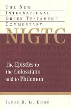 James D. G. Dunn, New Internation Greek Testament Commentary (NIGTC), Eerdmans, 1996, 405 pp.