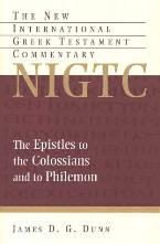 James D. G. Dunn, New Internation Greek Testament Commentary (NIGTC), Eerdmans, 1996, 405 pp.