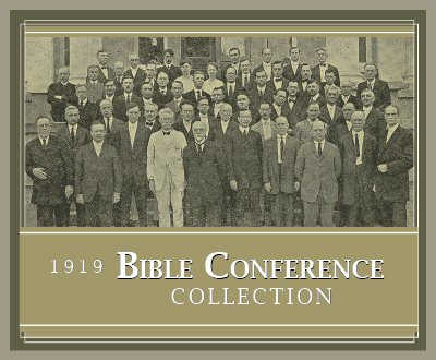 1919 Bible Conference Collection (24 vols.)