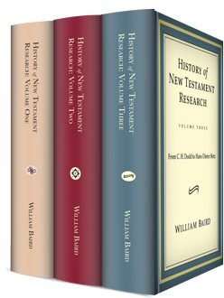 History of New Testament Research (3 vols.)