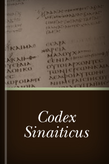 Codex sinaiticus logos bible software fandeluxe Choice Image