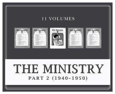 Ministry Magazine, Part 2 (1940–1950) (11 vols.)