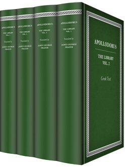 Apollodorus' The Library (4 vols.)