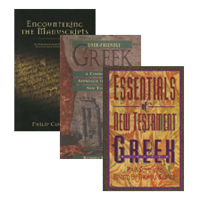 Essentials for New Testament Greek Studies (3 vols.)