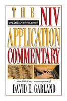 David E. Garland, NIV Application Commentary (NIVAC), Zondervan, 1998, 400 pp.