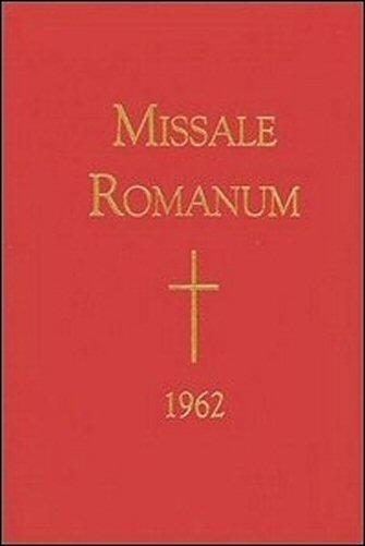 Missale Romanum (Latin, 1962)