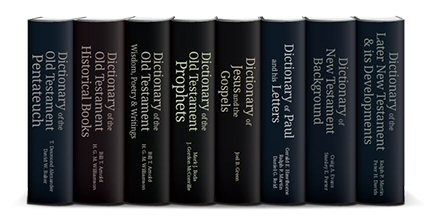 The IVP Bible Dictionary Series (8 vols.)