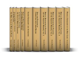 Classic Studies and Atlases on Biblical Geography (7 vols.)