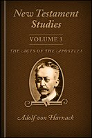 New Testament Studies, vol. 3: The Acts of the Apostles