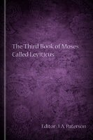 The Third Book of Moses Called Leviticus