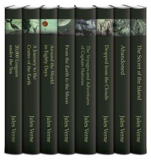 Select Works of Jules Verne (8 vols.)