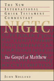 The Gospel of Matthew (The New International Greek Testament Commentary | NIGTC)