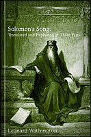 Solomon's Song: Translated and Explained in Three Parts
