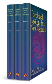 Theological Lexicon of the New Testament (TLNT), 3 Volumes