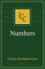 A Critical and Exegetical Commentary on Numbers (ICC)