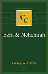 A Critical and Exegetical Commentary on the Books of Ezra and Nehemiah (ICC)