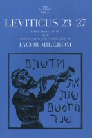 The Anchor Yale Bible: Leviticus 23–27