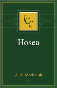 A Critical and Exegetical Commentary on Hosea (ICC)