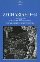 The Anchor Yale Bible: Zechariah 9–14