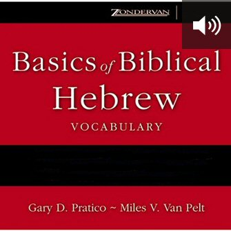 Basics of Biblical Hebrew Vocabulary (audio)