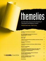 Themelios: vol. 39, no. 1, April 2014