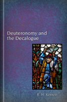 Deuteronomy and the Decalogue
