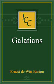 A Critical and Exegetical Commentary on the Epistle to the Galatians (ICC)