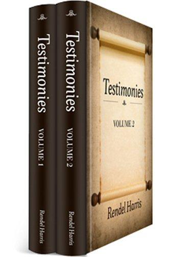 Testimonies (2 vols.)