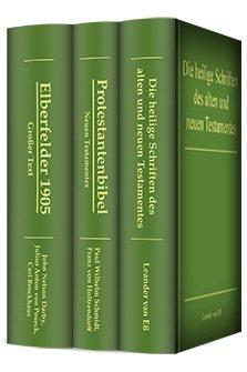 Auswahl klassischer Bibeln (3 Bde.)