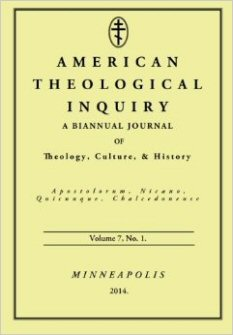 American Theological Inquiry, vol. 7, issue 1