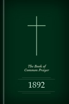 The Book of Common Prayer, 1892