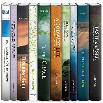 John Piper Christian Life and Ministry Collection (10 vols.)