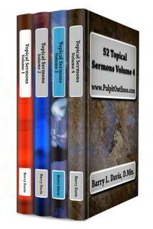 Topical Sermons 4 Vols