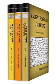 Ancient Egyptian Literature (3 vols.)