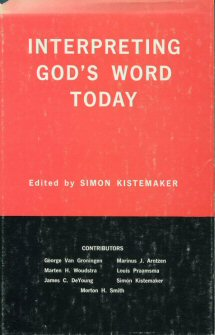 Interpreting God's Word Today